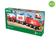 BRIO 33888 New Cargo train.Brand new. Free Post with tracking