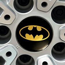 4 x Batman Motorcycle Car Styling Stickers Universal Car Wheel Hub Sticker Decal