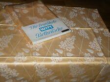 2-tgl  Mako  Damast  WITT WEIDEN  Bettwäsche  200 cm/160 cm  Vintage  Unbenutzt