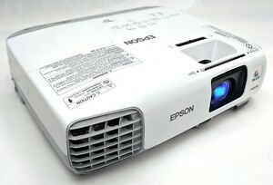 Epson PowerLite X27 H692A XGA 3LCD Projector HDMI 2700 Lumens No Remote Tested