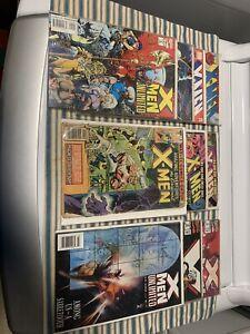 Comic Books X- Men 10 Tot Comic Book Estate. Under Plastic.