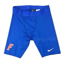 New Nike Men's L Florida Gators Digital Race Day Half Tight Shorts Blue MSRP $45