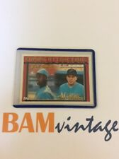 Carl Everett Dave Weathers RC 1994 Topps Rookie Baseball Card Marlins MLB 🔥⚾️