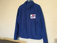 Sterling Beer Fleece Work Jacket - Mens Size L - Port Authority - Royal Blue