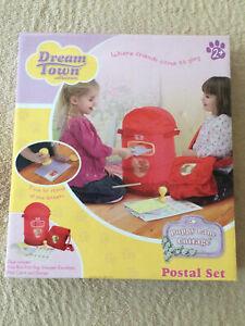 Dream Town Puppy Lane Cottage Postal Set - Post Office - BNIB
