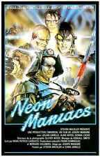 Neon Maniacs Poster 01 Metal Sign A4 12x8 Aluminium