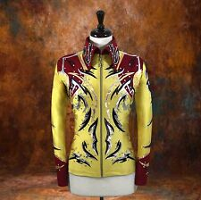 MEDIUM  Showmanship Pleasure Horsemanship Show Jacket Shirt Rodeo Queen Rail Top