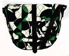 ** VERA BRADLEY SLIM SADDLE Imperial Rose Cotton Crossbody Bag Msrp $58.00