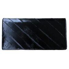 Genuine Eel Skin Standard Wallet Purse Diagonal Wallet