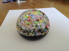 Classic Scottish Perthshire Aladdins Cave Art Glass Paperweight