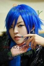mode de rôle à court perruque bleu moelleux.+ gratuit hairne