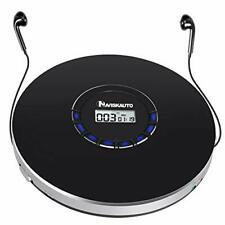 Rechargeable Portable CD Player Small CD Player for Car Compact Personal CD...