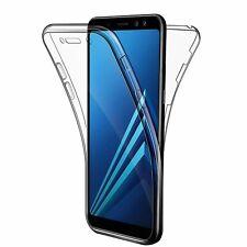 Coque Silicone Intégral 360° Samsung S5 S6 S7 S8 S9 S10 S20 J3 J5 J6 J7 A3 A5