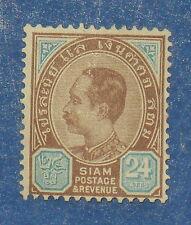 1899 THAILAND 24 ATTS SCOTT# 87 MICHEL.# 40 UNUSED                       CS17595