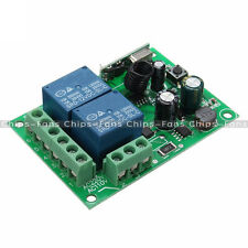 AC 110-220V 315MHz 2 CH Channel Wireless RF Relay Remote Control Switch Receiver