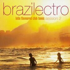 Brazilectro 2-Latin flavoured Club Tunes (2001) Janice, Trüby Trio, Ian.. [2 CD]
