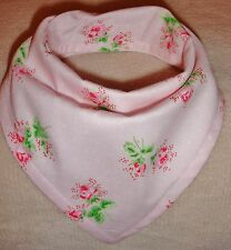 Bandanna Dribble Bib made with Cath Kidston Spring Flower material