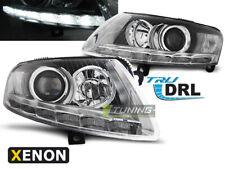 Coppia di Fari Anteriori LED DRL Inside per AUDI A6 4F C6 2004-2008 Xenon Cromat