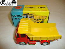CORGI 458 ERF MODEL 64G EARTH DUMPER (SMOOTH HUBS) - NR MINT in original BOX