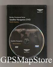 2011 to 2014 Bentley Mulsanne Sedan GPS Navigation DVD U.S Canada Map Version 2