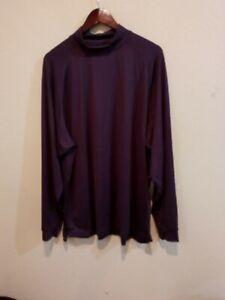 FootJoy FJ  Mock Neck Long Sleeve Golf Shirt Men's XL