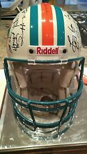 1972 MIAMI DOLPHINS PERFECT SEASON  HELMET SIGNED AUTOGRAPH TEAM Griese Shula