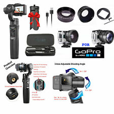 FISHEYE LENS +TELEPHOTO LENS +PRO 3 AXIS STABILIZER  FOR GOPRO HERO6 GOPRO HERO7