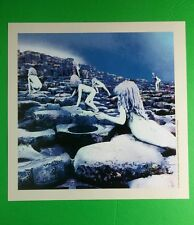 Led Zeppelin Naked Crawling On Rocks Square Mini Poster 8x8 Music Lithograph