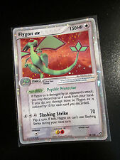 PL Pokemon FLYGON EX Card POWER KEEPERS Set 94/108 Ultra Rare Holo TCG 150 HP