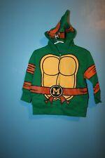 New Teenage Mutant Ninja Turtle Fleece Lined Hoodie Sweatshirt Boys Size 2T