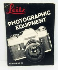 Original 1969 LEICA Cameras & Accessories Catalog