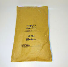 Pack Tombola Glückslose 500 Rivets Emballage D'Origine Type Gkl DDR non Ouvert