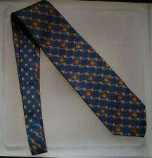 GIANNI VERSACE ICONIC MEDUSE Cravatta blu blue NeckTie Krawatte Corbata