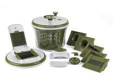 Salter All In One Food Preparation Set Green Food Salad Maker Mandolin Julienne