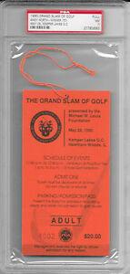 1990 PGA GRAND SLAM OF GOLF Full TICKET PAYNE STEWART North STADLER Mike Ditka