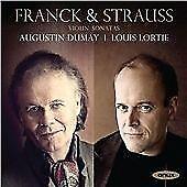 Franck & Strauss: Violin Sonatas, Augustin Dumay, Louis Lortie, Audio CD, New, F