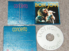 Bon Jovi-Live Santiago Chile , New Jersey Tour 1990 Very Rare Italian Import CD