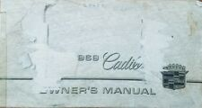 1969 Cadillac Owners Manual / Owners Guide Book