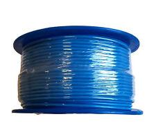 SINGLE CORE 6mm 100M BLUE WIRE CABLE 50 AMP CARAVAN TRAILER 4X4 AUTOMOTIVE 12V
