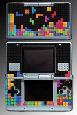 Tetris Block Retro Original Design Video Game SKIN Cover for Nintendo DS