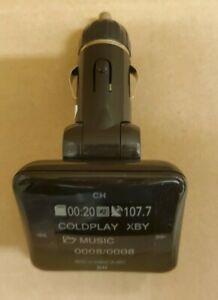 Scosche Universal Digital FM Frequencies Transmitter w/ SD Card Reader
