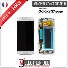 Ecran LCD Blanc Original Samsung Galaxy S7 Edge G935