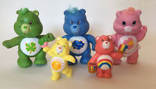 Vintage 1980's Care Bears Poseable & Small Figures !