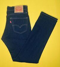 Men's 30x32 Levis 511 Slim Fit Blue Jeans Stretch Dark Hollow 1042 Denim (B)