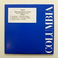 Extraits De La BO Disco – Christophe Willem ♦ CD Single Promo ♦