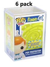 FUNKO POP! STACKS: FUNKO - POP PROTECTOR #1 HIGH-QUALITY POLYCARBONATE 6 PIECES
