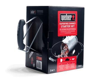 Weber 17631 Rapidfire Chimney Starter Set