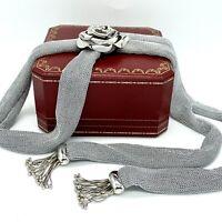 Limited Addition Adami & Martucci Mesh Sterling Silver Necklace & Bracelet Set