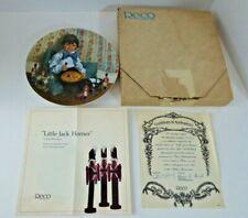 """""""Little Jack Horner"""" Mother Goose Series #4 John McClelland Manuf Reco 1982"""