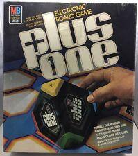 Vintage Retro Plus One Electronic Board Game 1980 Milton Bradley Made In USA